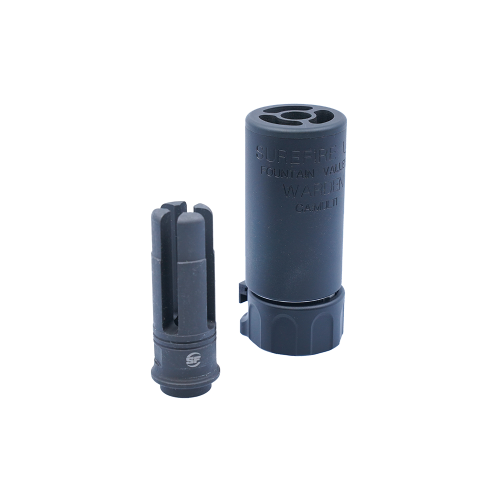 [5KU]WARDEN Silencer with 4P Flash Hider(BK)