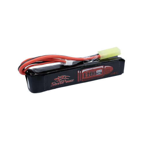 [SP] 1100mah 11.1v 20c Li-Po Battery (타미야잭)