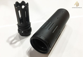 ACC silencer, BLACK, For DAS M4GDR-15