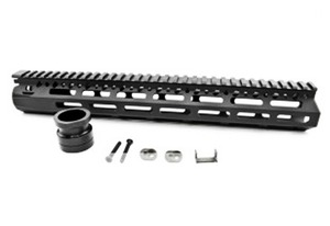 [C&C] MCMR 13 Style Rail PTW Airsoft BK