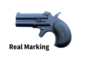 [MAXTACT] Derringer Full Metal GBB Pistol -Black