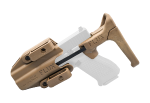 [TMC]FLUX Defense Pistol Brace & Holster Set (TAN)