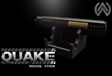 [WOLVERINE AIRSOFT] Quake HPA recoil Stock