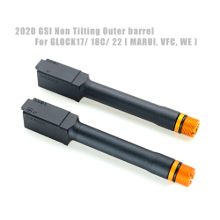 [GSI] 2020 NEW GSI Non Tilting Barrel For GLOCK17 18C 22 [ MARUI, VFC, WE ]