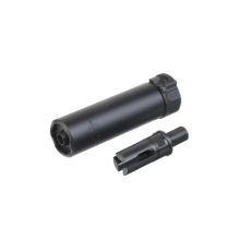 [5KU] SF Style SOCOM 46 MINI Silencer +12mm for KWA/VFC MP7